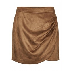 VMDONNADINA DRAPY HW FAUX SUEDE SKIRT